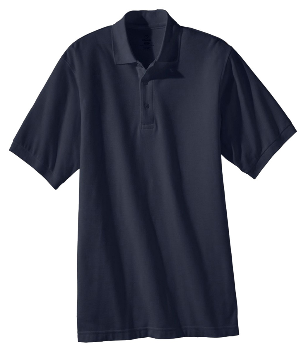 'Edwards 1500 Men's Blended Pique Short Sleeve Polo'