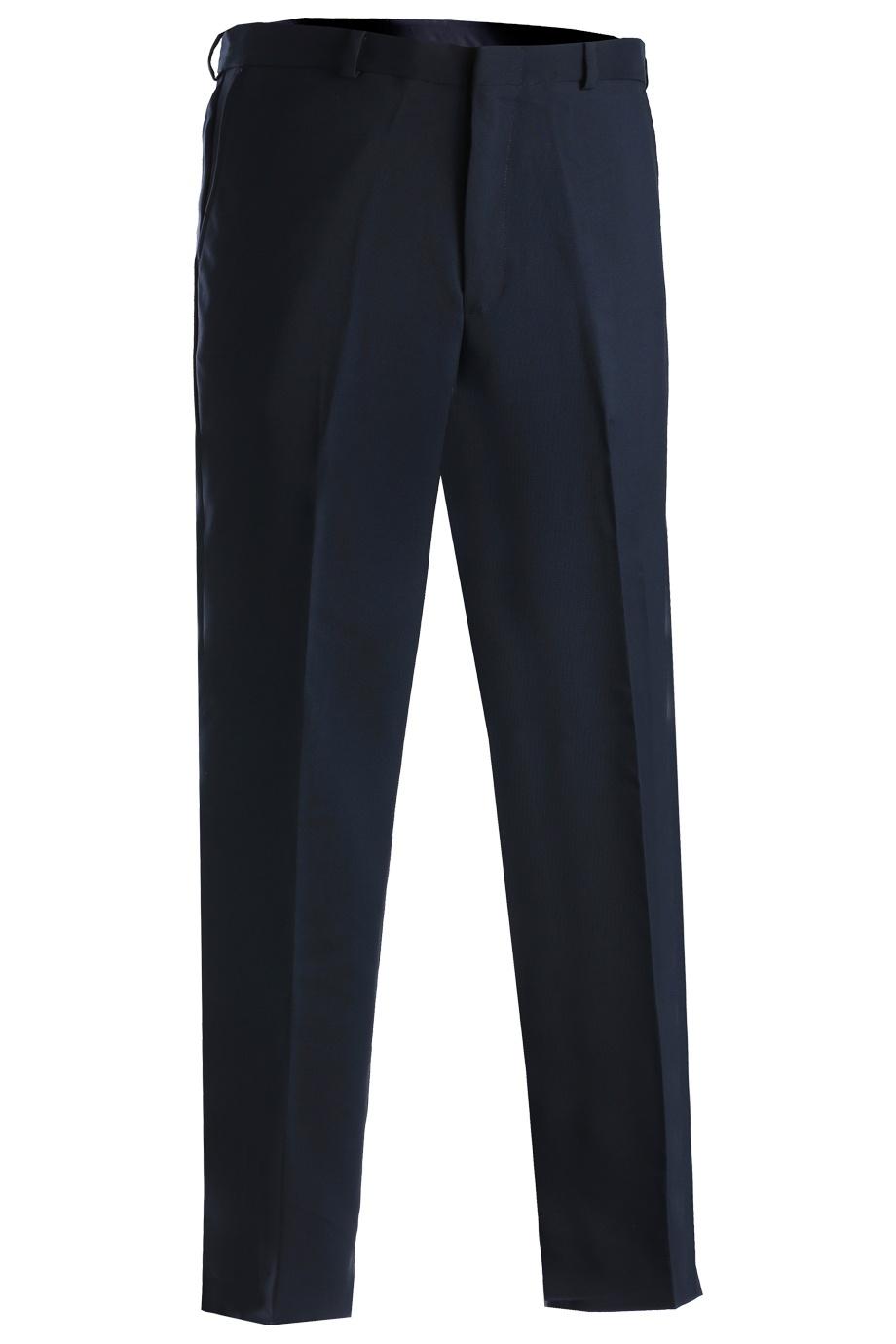 'Edwards 2290 Men's Polyester Flat Front Pant'