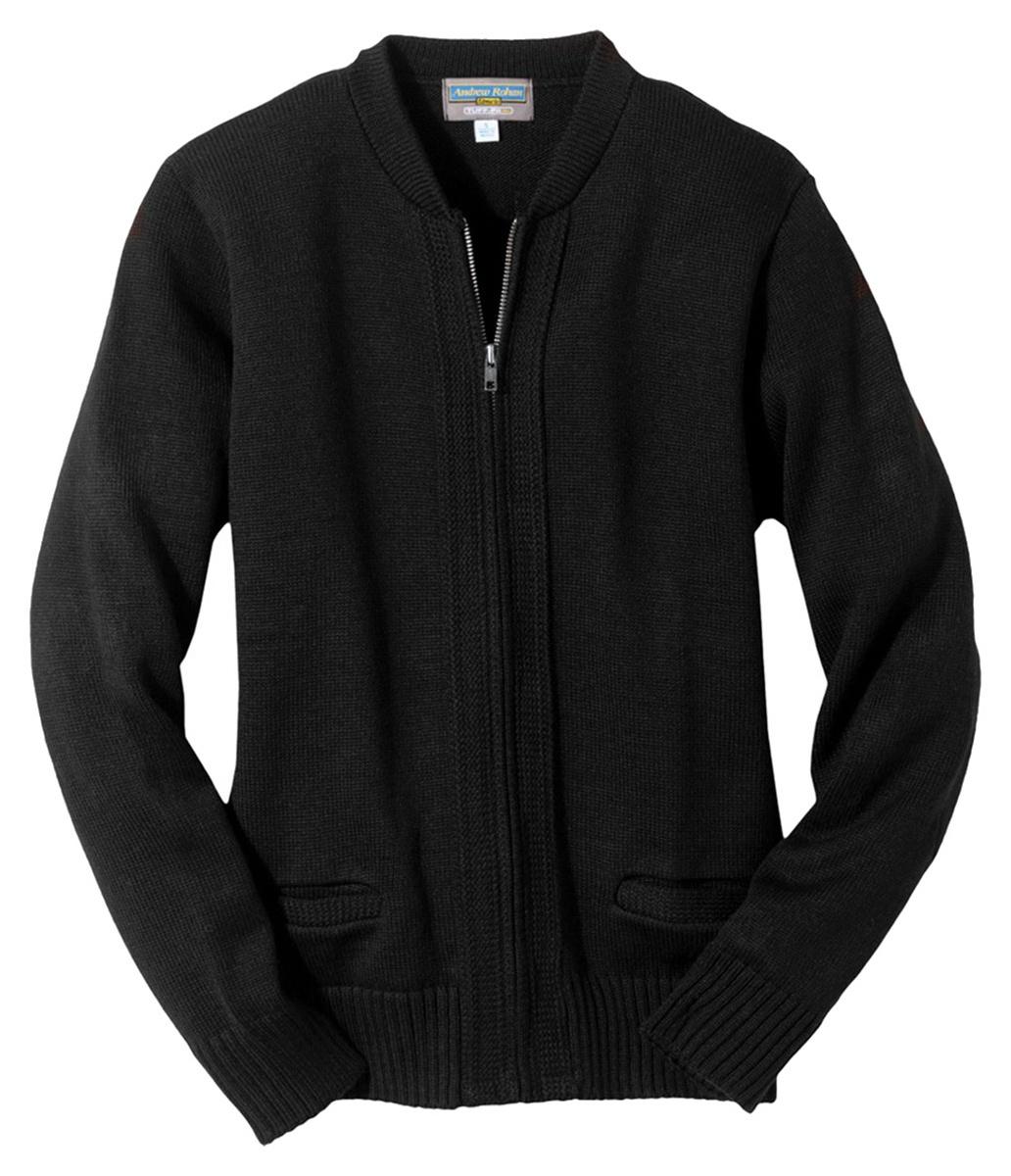 'Edwards 372 Full-Zip Heavyweight Acrylic Sweater'