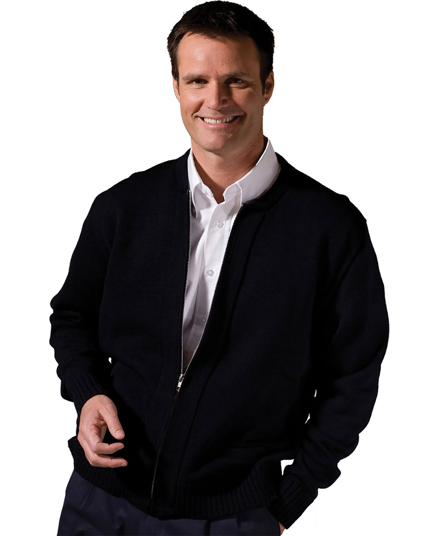 'Edwards 381 Full-Zip Acrylic Sweater'