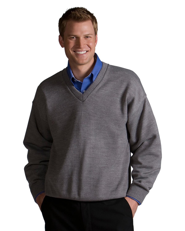 Edwards Crew Neck Acrylic Sweater Navy 5XL