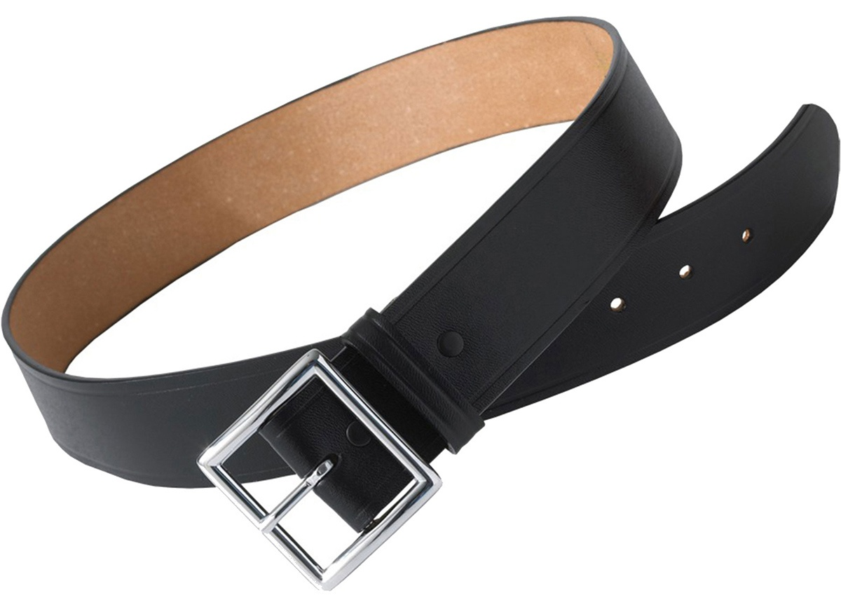 'Edwards BC00 Leather Garrison Security Belt'