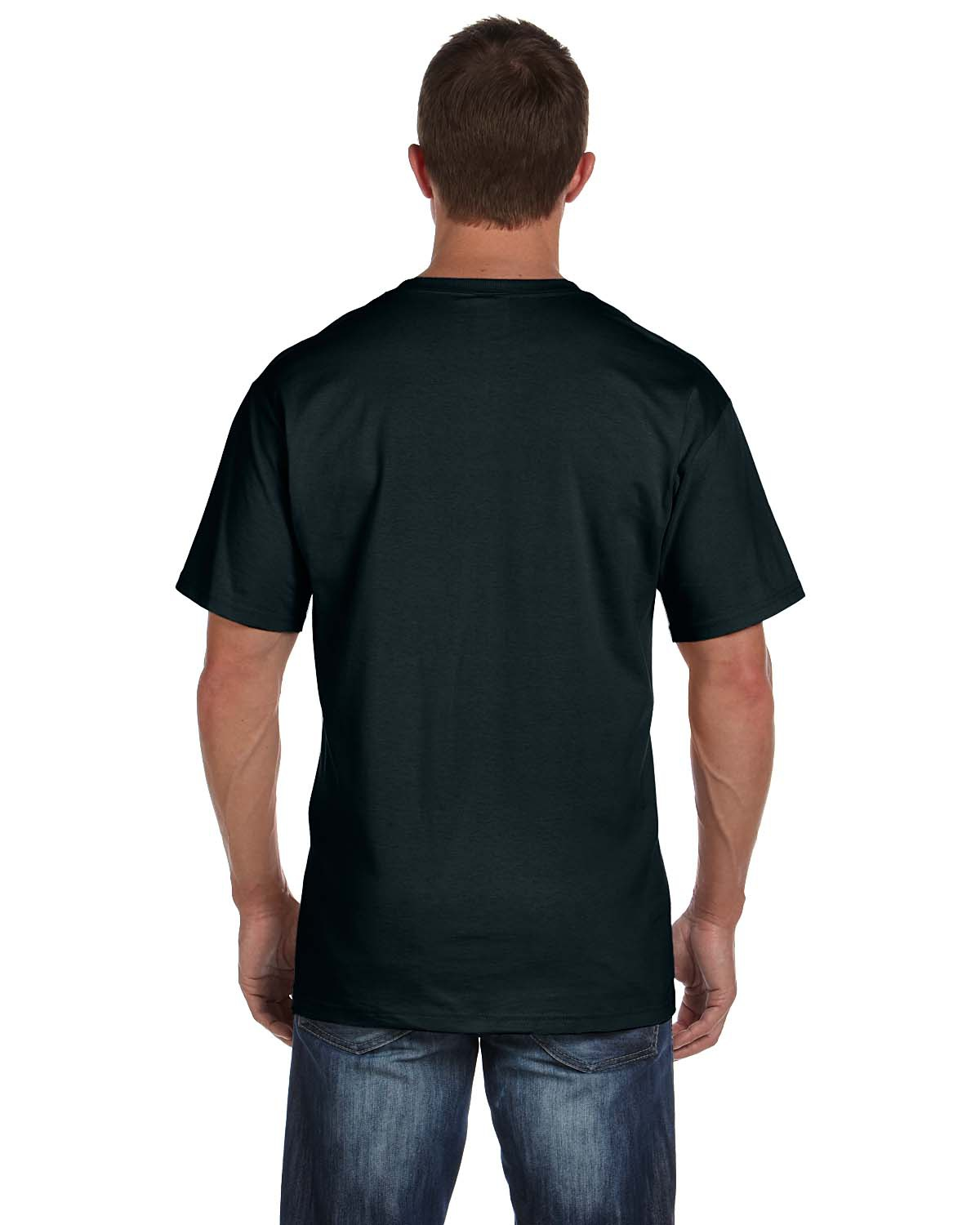 'Fruit of the Loom 3931P Adult HD Cotton Pocket T-Shirt'