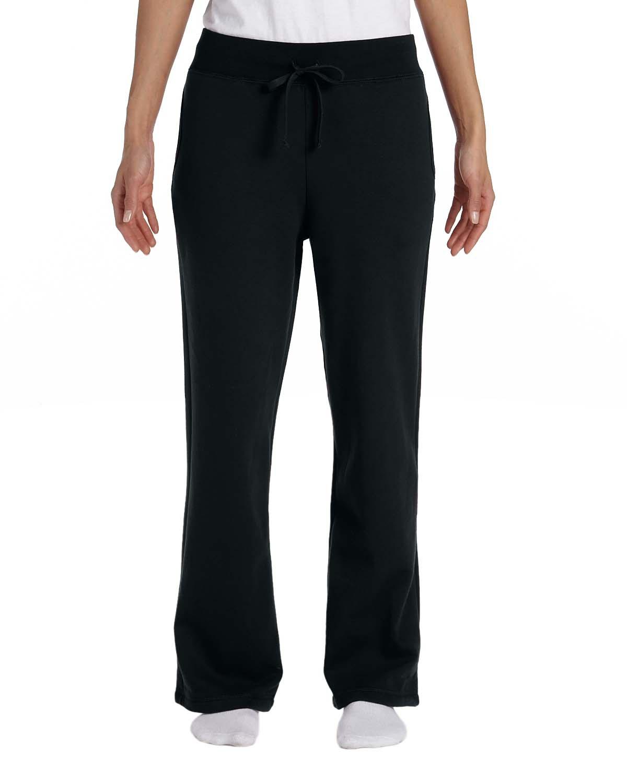 'Gildan G184FL Ladies' Heavy Blend Ladies' 50/50 Open-Bottom Sweatpants'