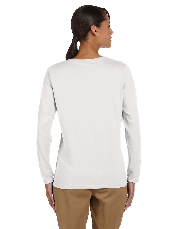 'Gildan G540L Ladies' Long-Sleeve T-Shirt'
