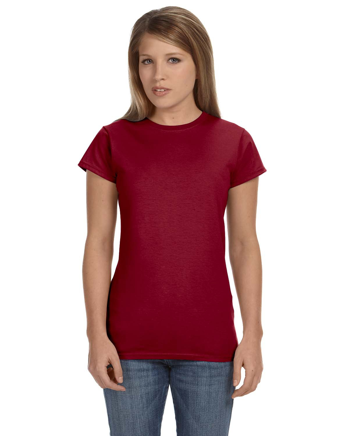 'Gildan G640L Ladies' Softstyle Fitted T-Shirt'