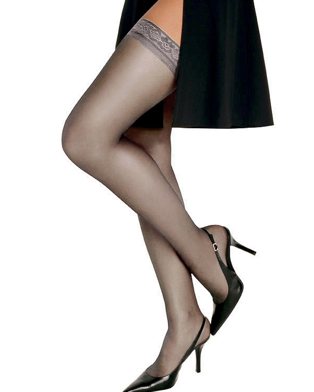 'Hanes 00720 Women's Silk Reflections Silky Sheer Thigh High'