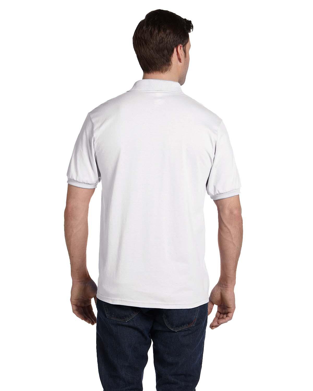 'Hanes 054 Men's Comfortblend Ecosmart Jersey Knit Polo Shirt'