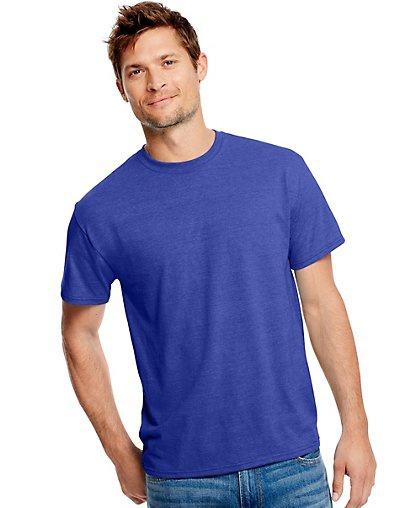 'Hanes 42TB Adult X Temp Triblend Polyester Cotton T-Shirt'