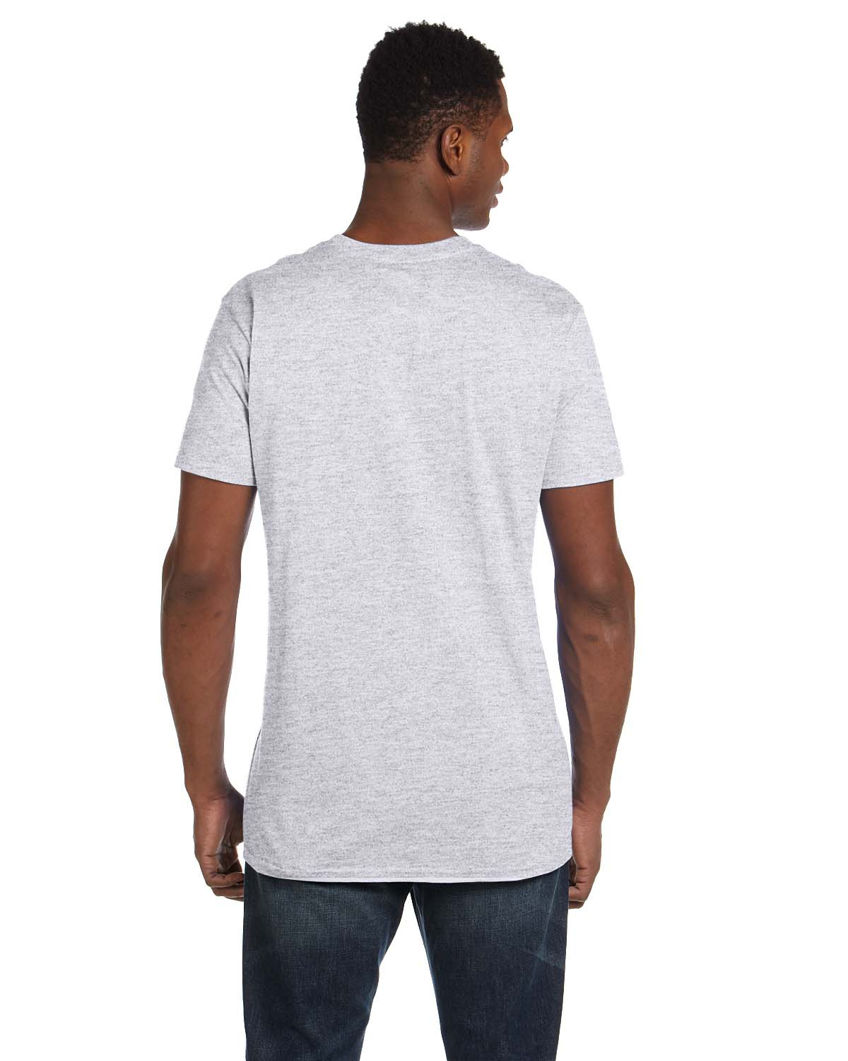 'Hanes 4980 Adult Ringspun Cotton nano-T T-Shirt'