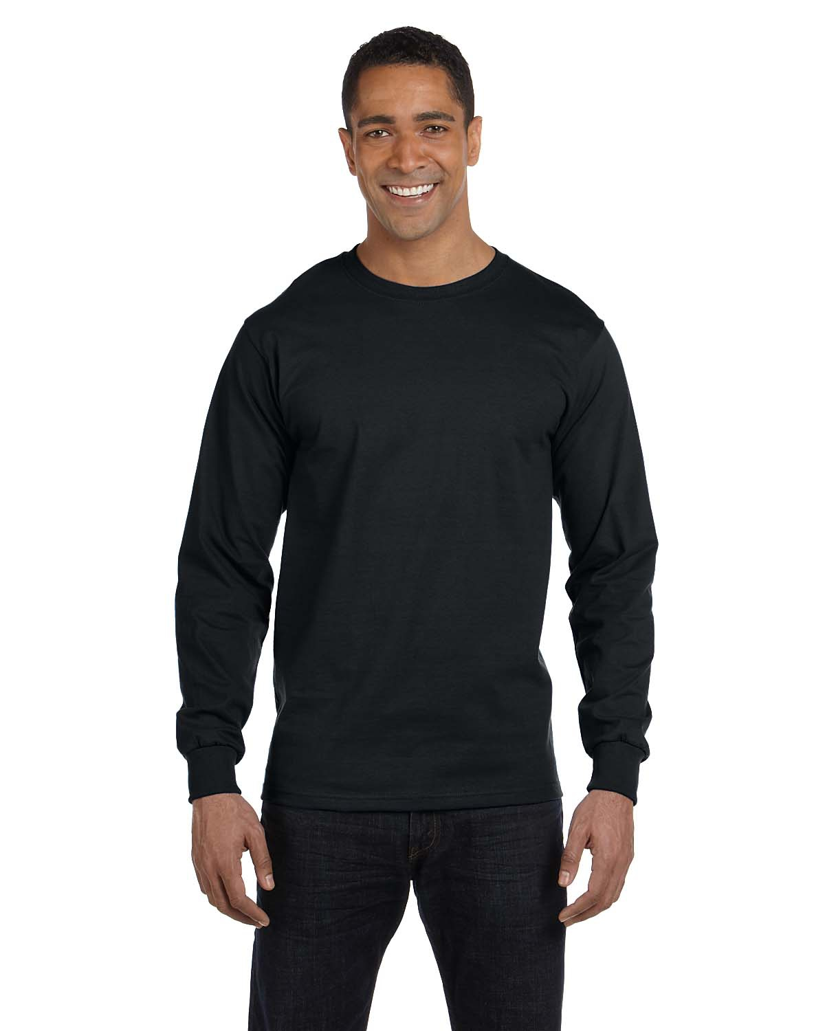 'Hanes 5286 ComfortSoft Long Sleeve T-Shirt'