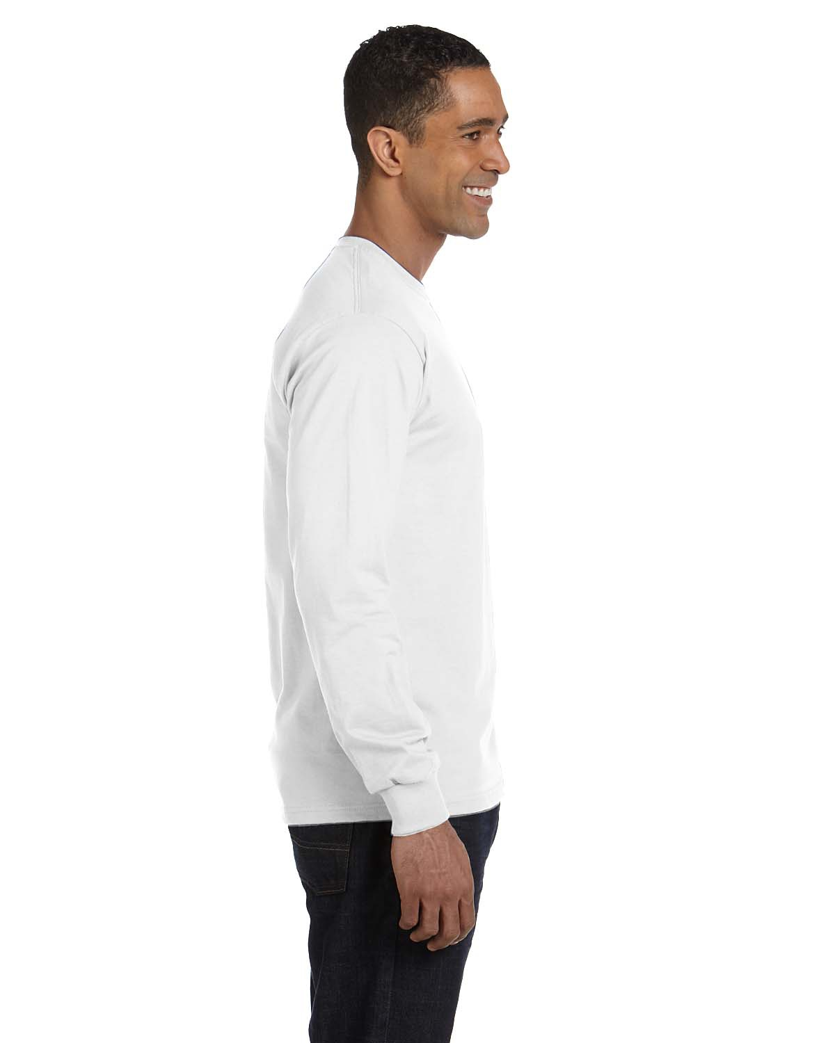 'Hanes 5286 ComfortSoft Long Sleeve Cotton T-Shirt'