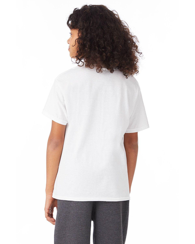 'Hanes 5370 Ecosmart Youth Cotton T-Shirt'