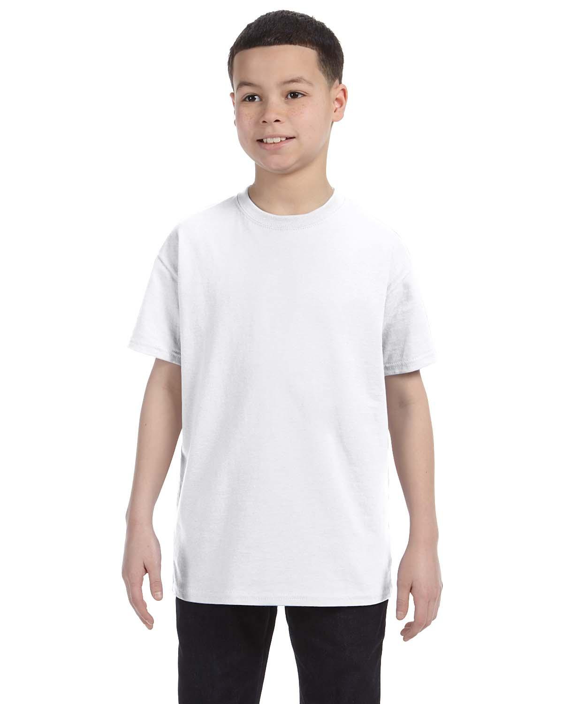 'Hanes 54500 Youth Tagless T-Shirt'