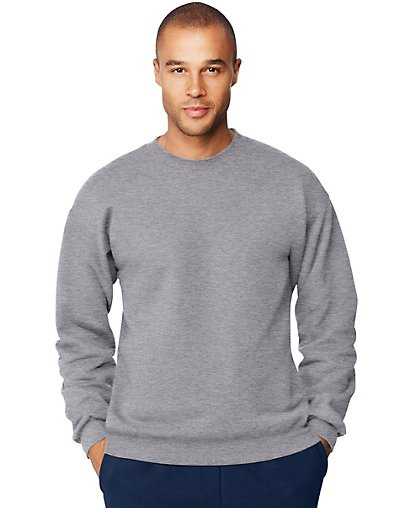 'Hanes F260 Adult Ultimate Cotton 90/10 Fleece Crew'