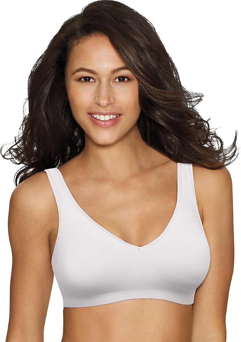 'Hanes G796 SmoothTec Wirefree Polyester Spandex Bra'