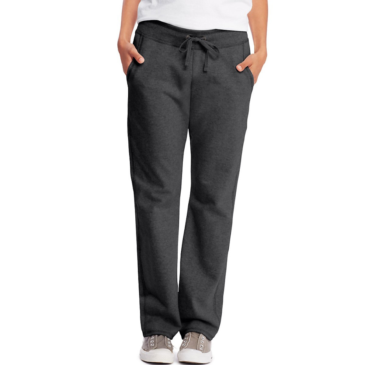 'Hanes O4677 Women's French Terry Pocket Pant'