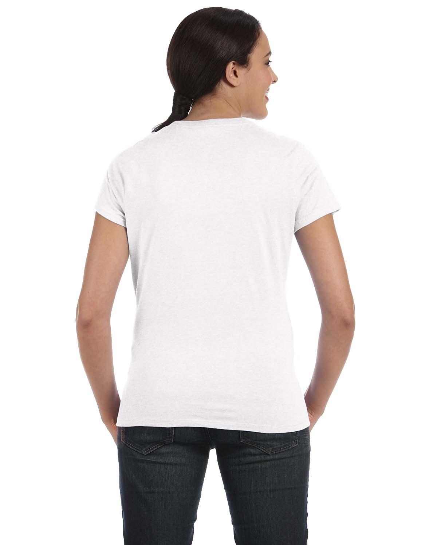 'Hanes SL04 Ladies nano Ringspun Cotton Tee T-Shirt'
