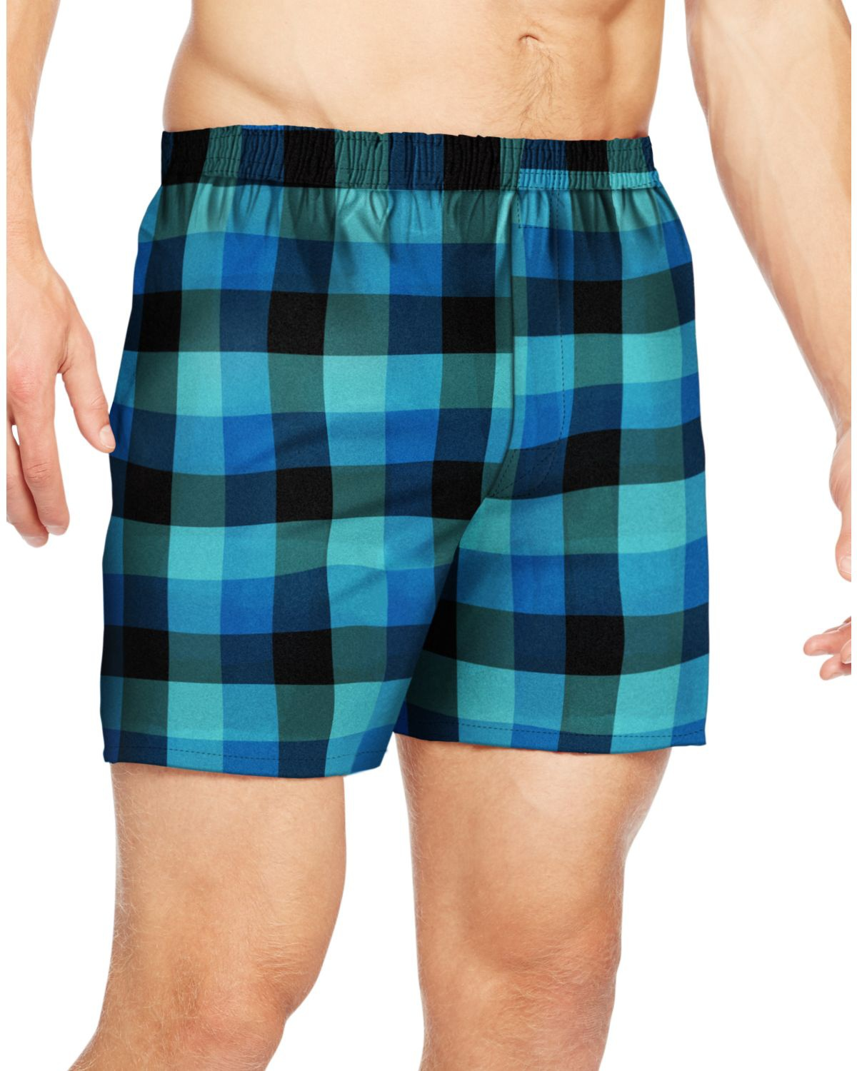 'Hanes UTHXX3 Men's TAGLESS Ultimate Fashion Boxer with Comfort Flex Waistband'