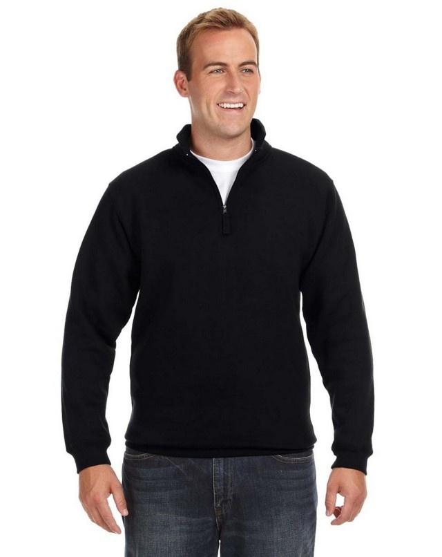 'J America JA8634 Adult Heavyweight Fleece Quarter-Zip'