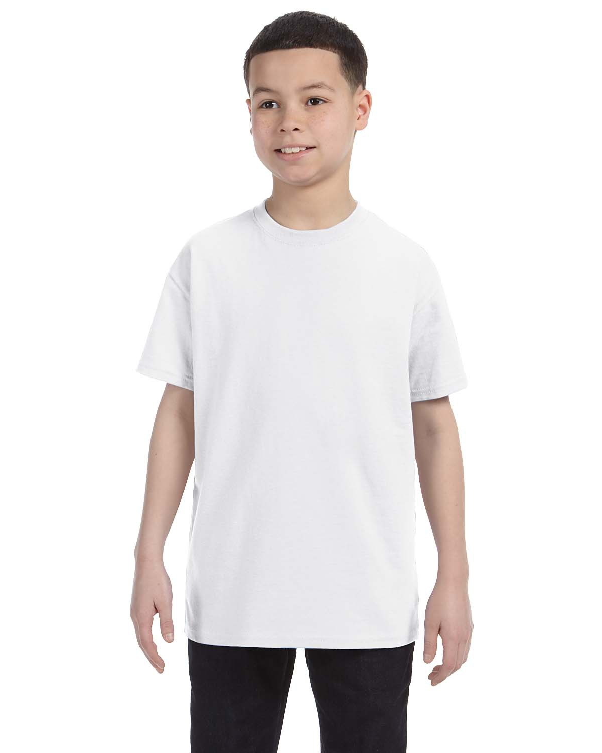 'Jerzees 29B Youth Dri Power Active Cotton Polyester T-Shirt'