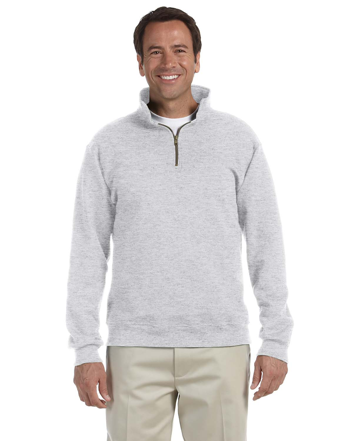'Jerzees 4528 Adult Super Sweats NuBlend Fleece Quarter-Zip Pullover'
