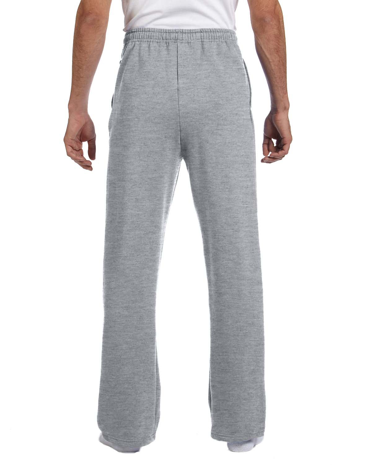 'Jerzees 974MP Adult NuBlend Open-Bottom Fleece Sweatpants'