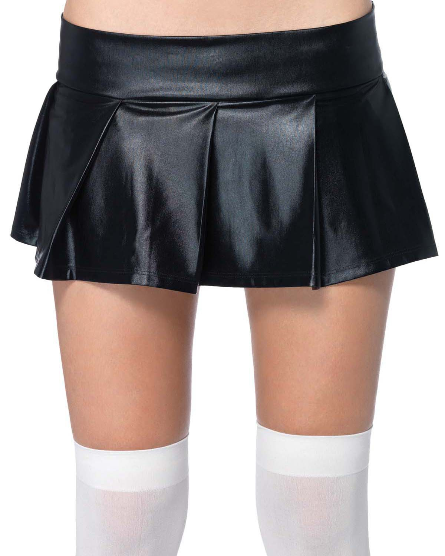 'Leg avenue UA2658 Skirt Pleated Wet Look Adult'