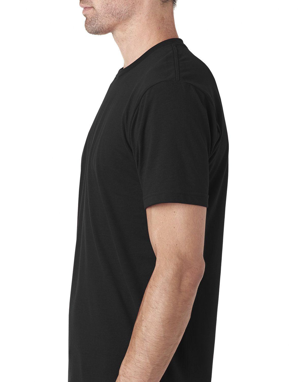 'Next Level 6410 Men's Cotton Polyester Sueded Crewneck T-Shirt'
