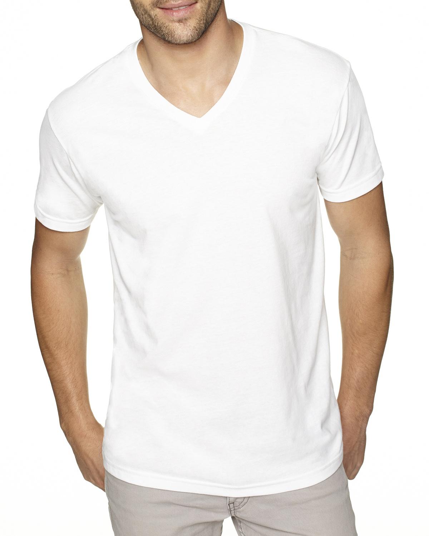 'Next Level 6440 Men's Sueded V Neck T-Shirt'