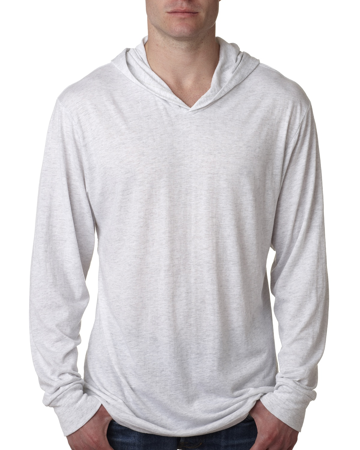 'Next Level N6021 Adult Triblend Long-Sleeve Hoody'