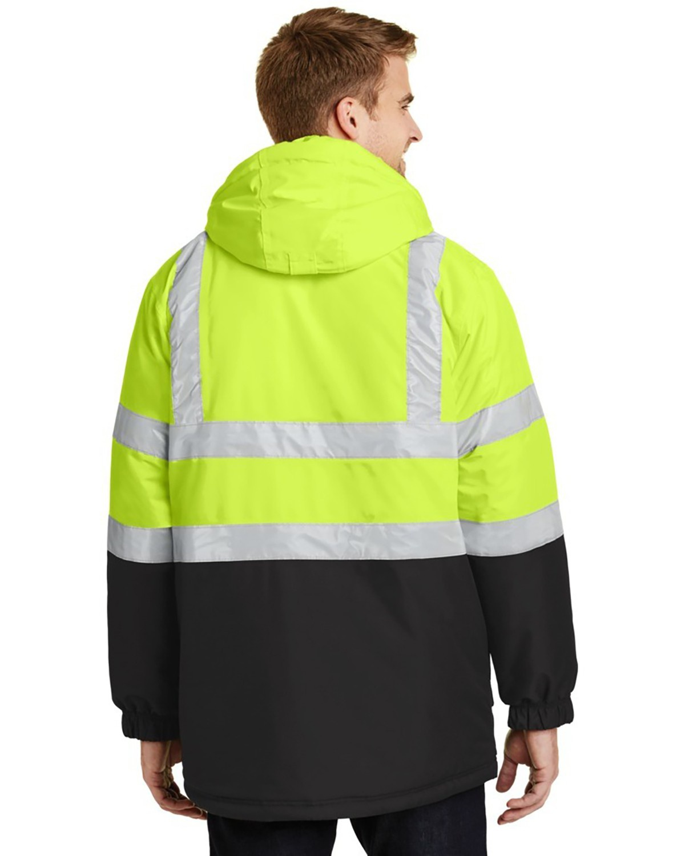 'Port Authority J799S Safety Heavyweight Parka'