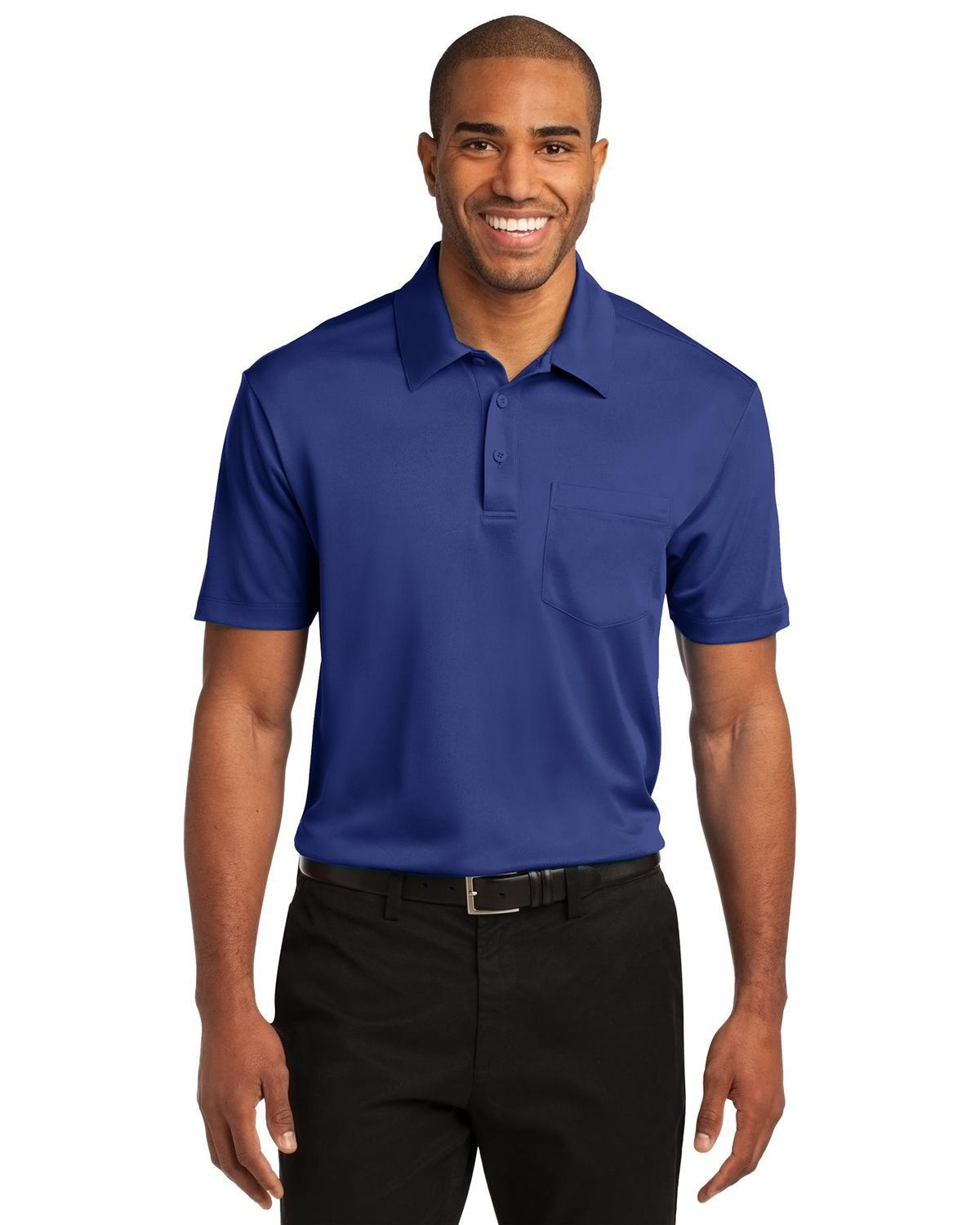 'Port Authority K540P Silk Touch Performance Pocket Polo'