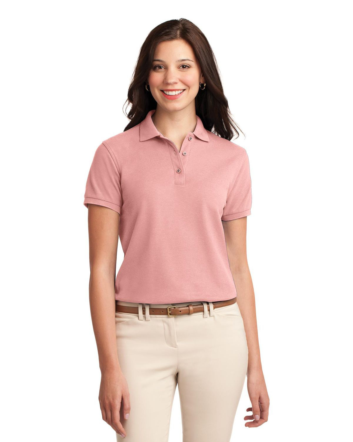 'Port Authority L500 Ladies Silk Touch Polo'