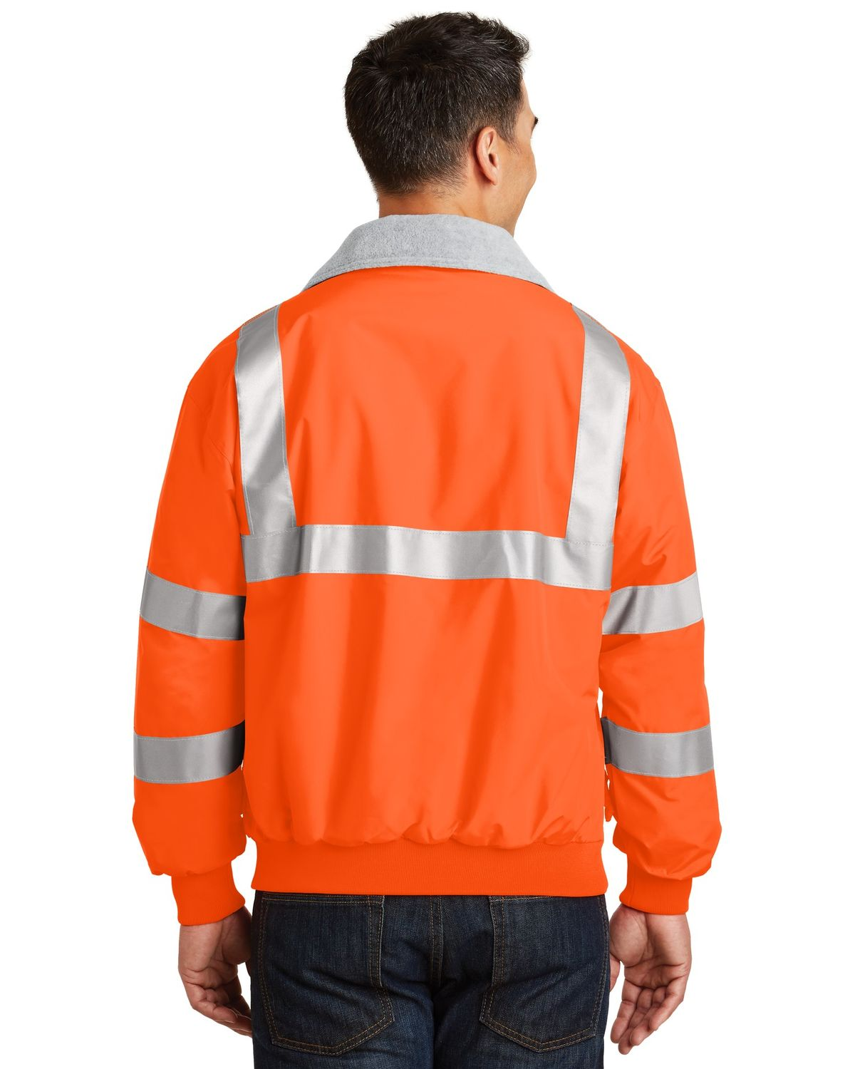 'Port Authority SRJ754 Safety Challenger Jacket with Reflective Taping'