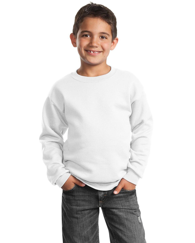 'Port & Company PC90Y Youth Core Fleece Crewneck Sweatshirt'