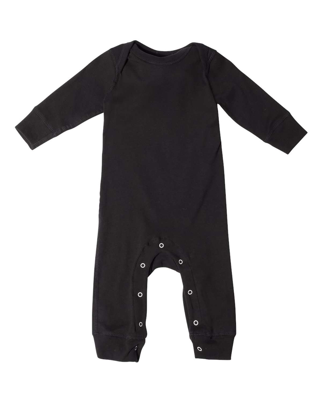 'Rabbit Skins 4412 Infant Long Legged Baby Rib Bodysuit'