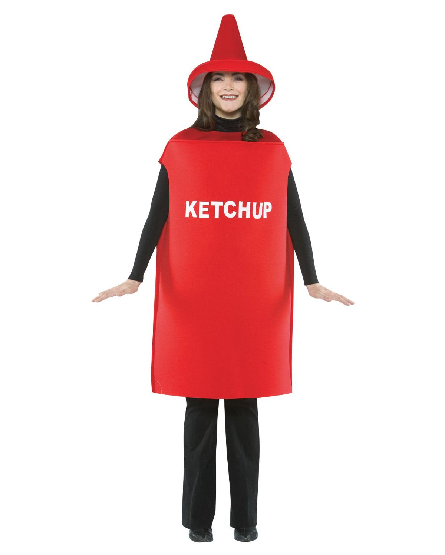 'Rasta imposta GC305 Ketchup Costume Adult'