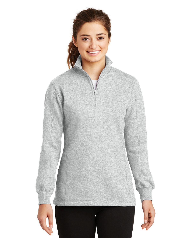 'Sport Tek LST253 Ladies 1/4-Zip Sweatshirt'