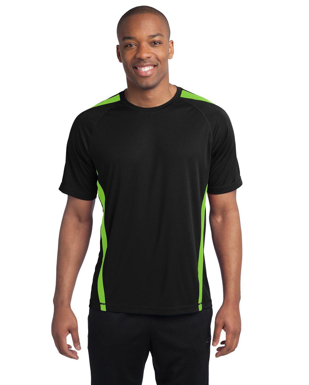 'Sport Tek ST351 Colorblock Competitor T-Shirt'