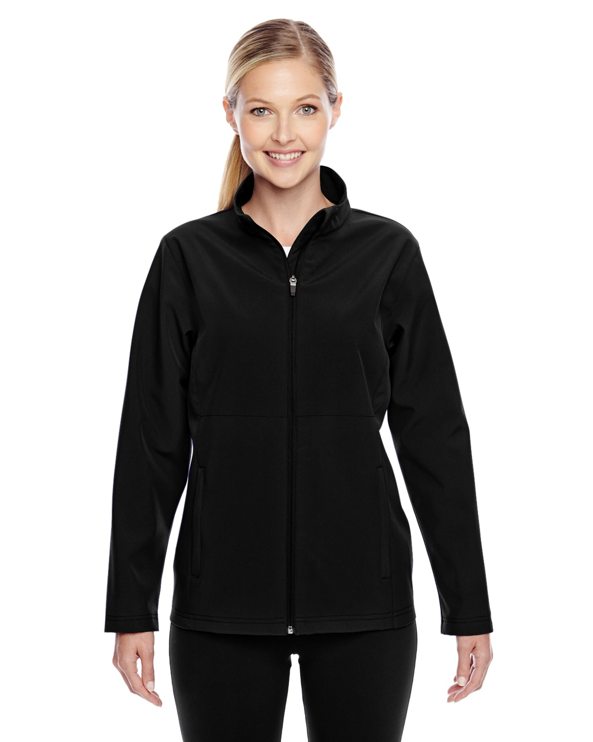 'Team 365 TT80W Ladies' Leader Soft Shell Jacket'