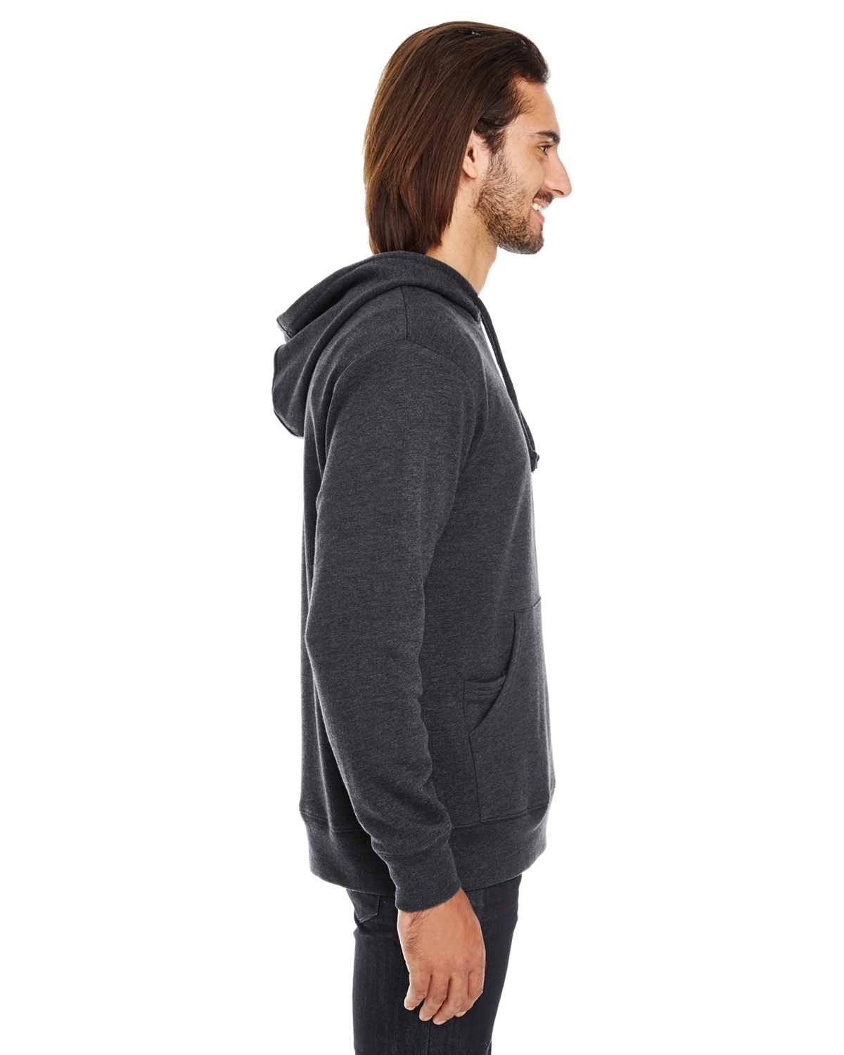 Threadfast Apparel Triblend French Terry Hoodie 321H