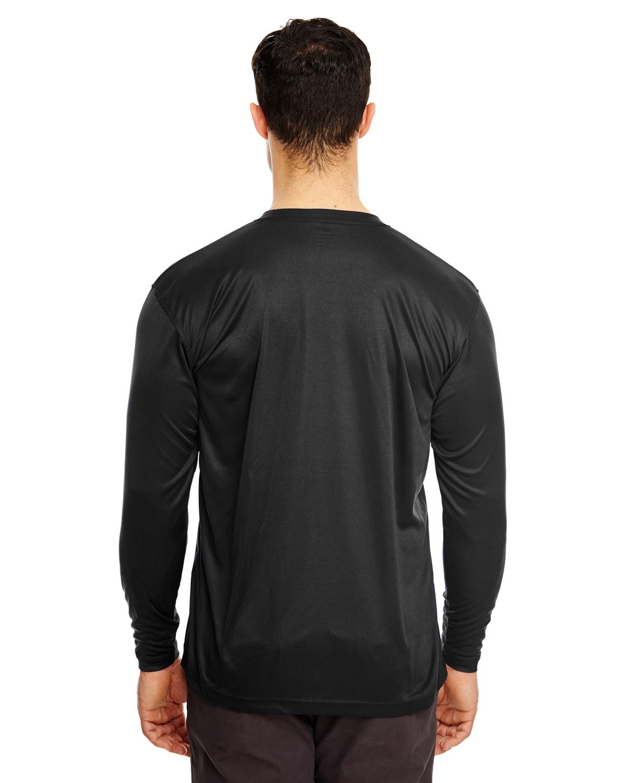 c60d34fe UltraClub 8422 Adult Cool & Dry Sport Long-Sleeve Performance Interlock T- Shirt