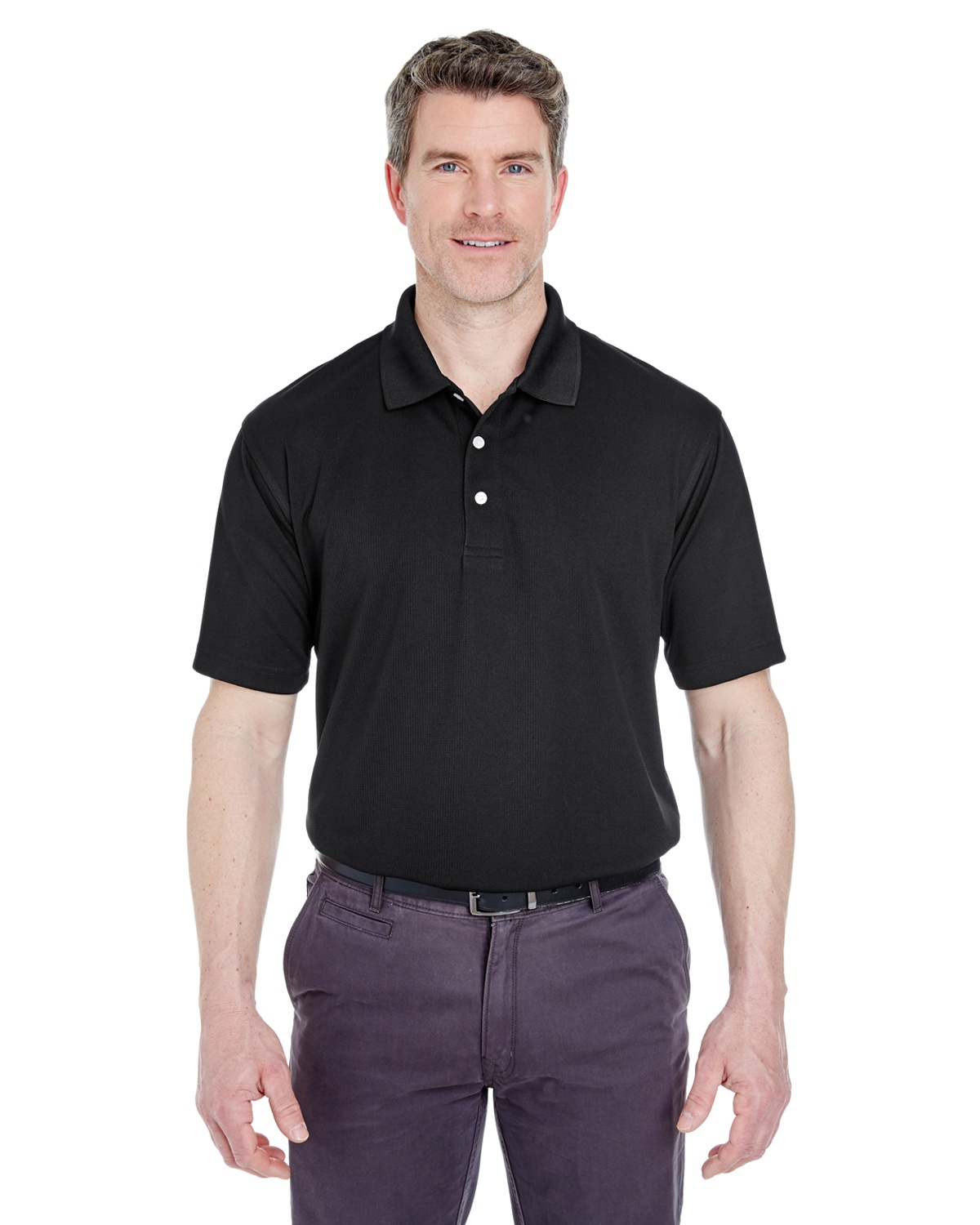 'UltraClub 8445 Men's Cool & Dry Stain-Release Performance Polo'
