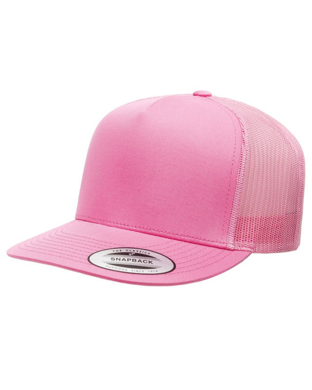 'Yupoong 6006 Adult 5-Panel Classic Trucker Cap'